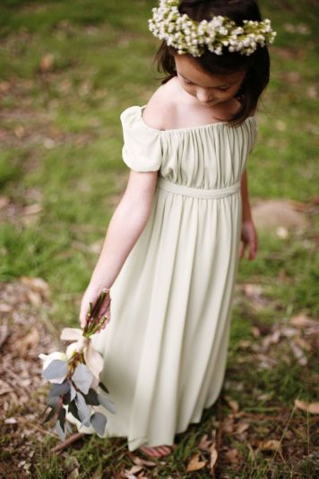 Cute bridesmaid dresses for little girls ideas 75
